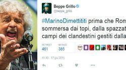 Quando Beppe Grillo chiedeva le dimissioni di Marino per la