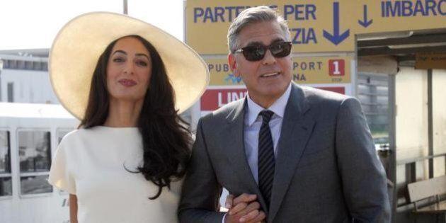 George Clooney regala alla moglie Amal Alamuddin un ristorante giapponese per il loro primo anniversario