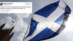 Facebook celebra la Scozia con la bandiera della