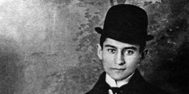 Franz Kafka (1883-1924) czech writer c.1910. (Photo by Apic/Getty