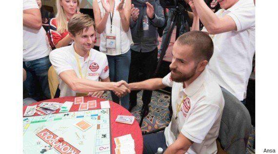 Nicolò Falcone, un 31enne veneziano ha vinto la 14esima edizione dei Campionati Mondiali di Monopoly