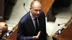 Letta si dimette da deputato: il lungo applauso della