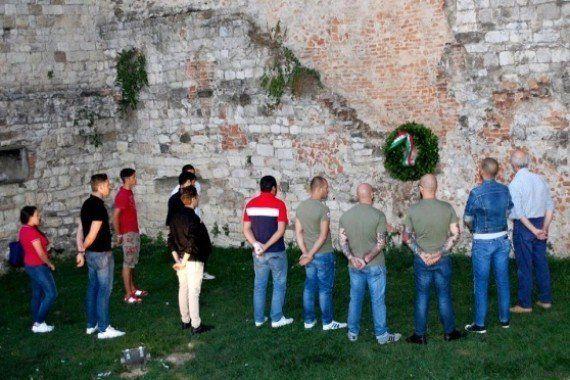 CasaPound commemora fascisti morti nel 1944: