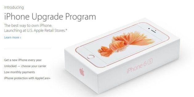 iPhone 6s, con l'iPhone Upgrade Program nasce una nuova forma di finanziamento.