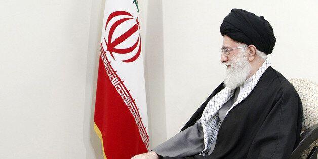 TEHRAN, IRAN - JANUARY 29 :  Turkey's Prime Minister Recep Tayyip Erdogan (L) meets with Iran's Supreme Leader Ayatollah Ali