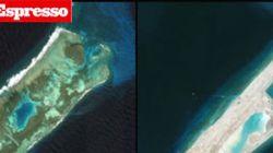 Cina, la barriera corallina diventa