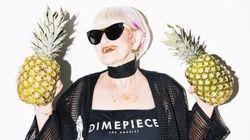 Questa nonna si veste in modo più cool di
