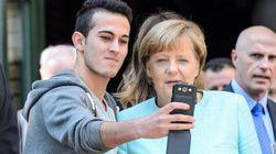 I selfie della Merkel con i