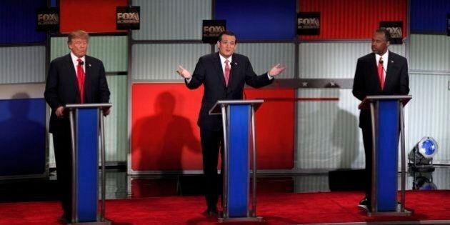 Donald Trump contro Ted Cruz al dibattito tra i repubblicani: