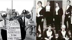 Il confronto Corbyn-Cameron in una foto. Ed è