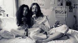 L'omaggio di Yoko a Lennon: il simbolo della pace