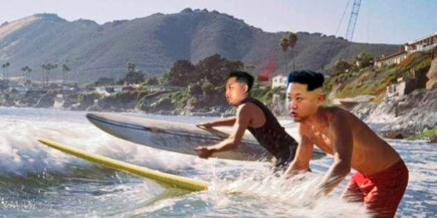 Kim Jong Un lancia il surf in Corea del Nord: spot, resort e surf camp grazie all'aiuto di un