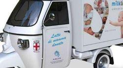 Il camioncino che raccoglie latte materno e lo regala ai neonati bisognosi (FOTO,