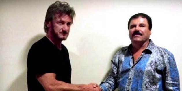 Intervista a El Chapo, parla Sean Penn: