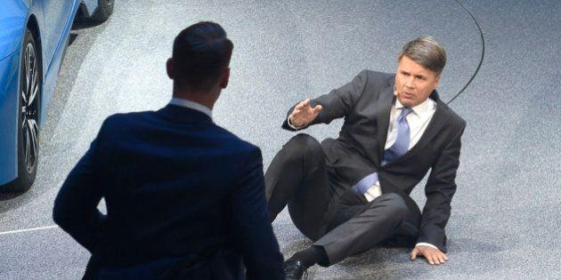 Harald Krueger presidente Bmw colto da malore al salone di Francoforte. Interrotta la conferenza stampa