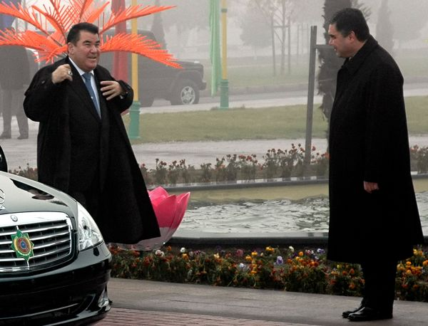 President Gurbanguli Berdymukhamedov, 56, took over from Turkmenistan's long-time authoritarian leader Saparmurat Niyazov aft