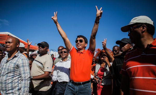 "Andry Rajoelina <a href=""http://www.theguardian.com/world/2009/mar/21/madagascar"" target=""_blank"">set up his own pop radio st"