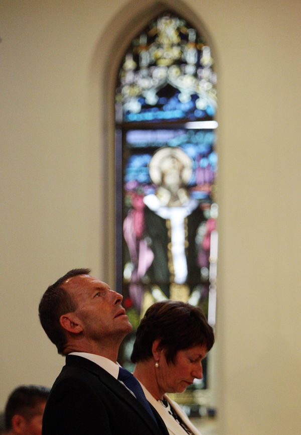 In his 20s, Tony Abbott trained to become a Catholic priest at Australia's leading St. Patrick's Seminary, but quit after thr