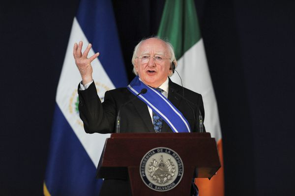 """Irish president Michael D. Higgins has <a href=""""http://www.president.ie/biography"""" target=""""_blank"""">published four volumes of"""