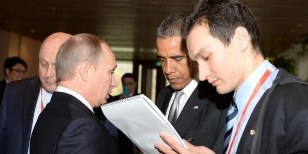 Barack Obama valuta un incontro con Vladimir Putin sulla