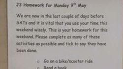 I compiti a casa di questo insegnante sono i più divertenti di