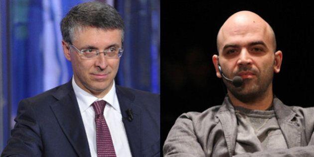 Raffaele Cantone contro Roberto Saviano: