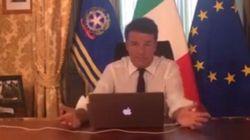 Renzi e la pubblicità occulta alla