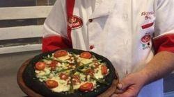 Pizza con farina di grilli,