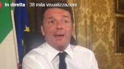 Twitter e Renzi si fanno tv. Ma chi controlla