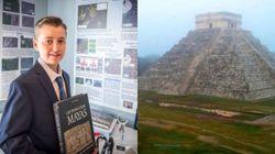 A 15 anni scopre un'antica e perduta città Maya guardando le stelle: la favola di
