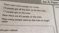 Questo test di matematica per bambini di 6 anni sta facendo impazzire