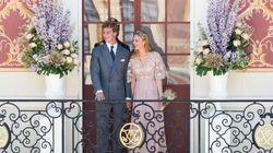 Le nozze di Pierre e Beatrice? Picnic, danze popolari e una partita a