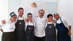 Chef stellati cucinano il cibo in eccesso di Expo per i poveri