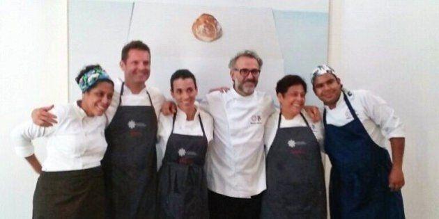 Il Refettorio Ambrosiano: dove gli chef stellati cucinano per le persone in difficoltà con le eccedenze...