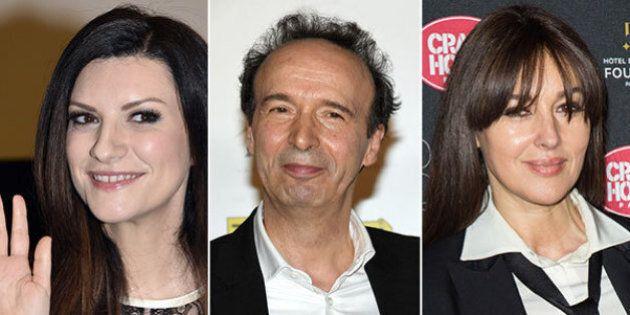 Laura Pausini, Roberto Benigni, Monica Bellucci: svelati tutti i nomi degli ambasciatori di Roma