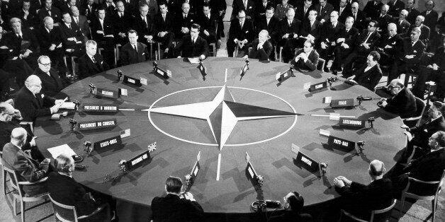 FRANCE - DECEMBER 16:  Nato Conference At Palais De Chaillot On December 16, 1957.  (Photo by Keystone-France/Gamma-Keystone