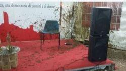 Il presidente della Toscana aggredito con un secchio di letame. Solidarietà da