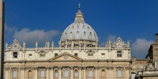 Rome, Lazio, Italy, Europe, St. Peter's Square, Vatican City, State of Vatican City, Vatican and Italian...