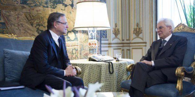 Il Presidente Sergio Mattarella difende Ignazio Visco: