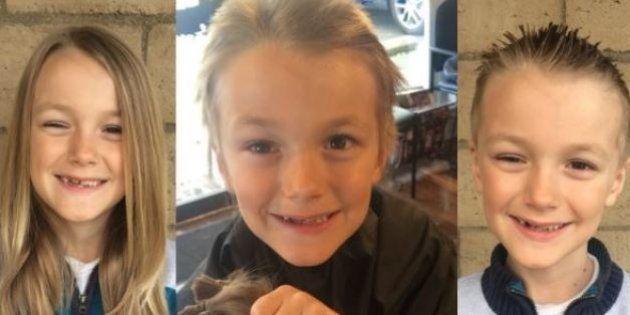 Vinny, 7 anni, ha donato i suoi capelli per i malati di cancro: gliene diagnosticano uno al 4