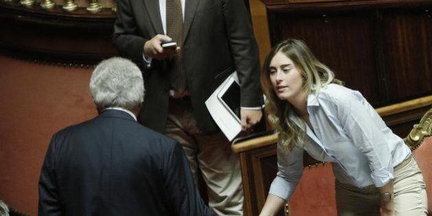 Maria Elena Boschi 'sdogana' Denis Verdini: