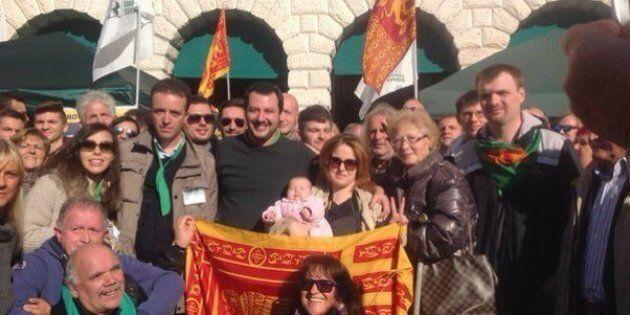 Matteo Salvini a Belluno: