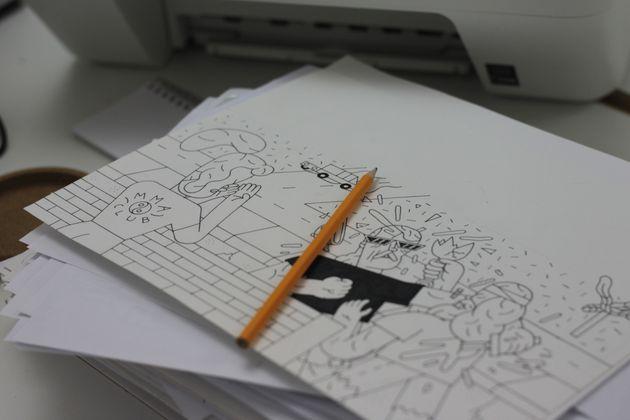 Studio Pilar, 4 illustratori under 30 che hanno aperto un collettivo a Roma,