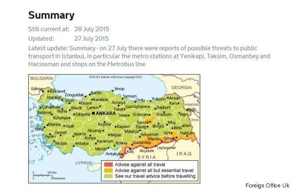 Turchia, Farnesina: