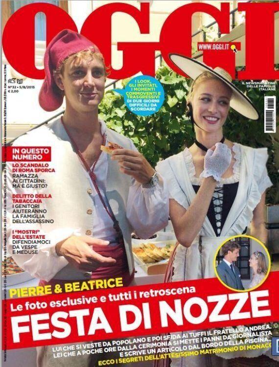 Beatrice Borromeo e Pierre Casiraghi sposi, le foto del matrimonio in esclusiva sul settimanale Oggi