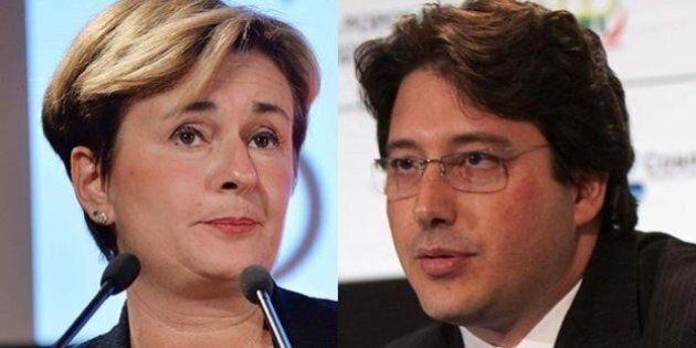 Federica Guidi a Gianluca Gemelli: