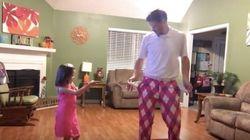 Justin Timberlake sta impazzendo per il ballo di questo padre con sua