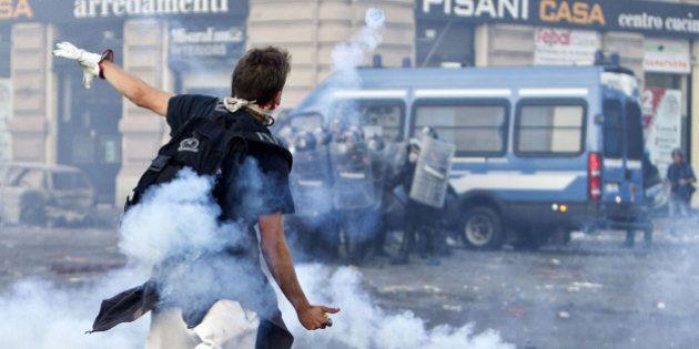 Scontri a piazza a San Giovanni a Roma il 15 ottobre 2011: 15 condanne per 61 anni di