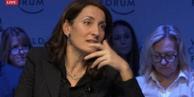 Carla Ruocco del Movimento 5 Stelle debutta al World Economic Forum di