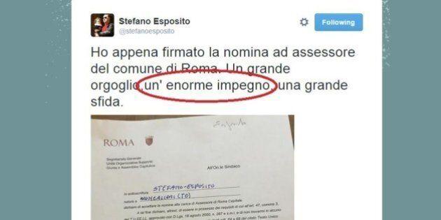 Stefano Esposito, prima